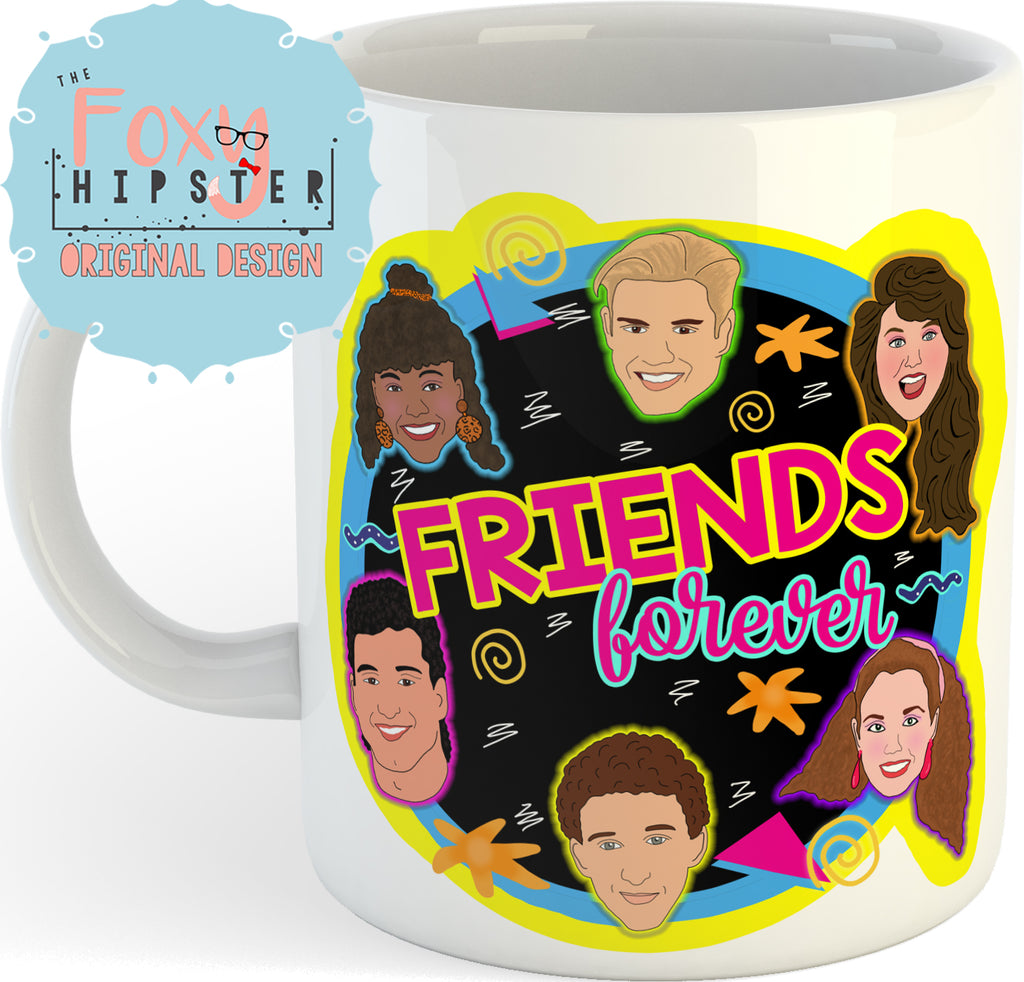 Saved by the Bell Friends Forever 11oz coffee mug