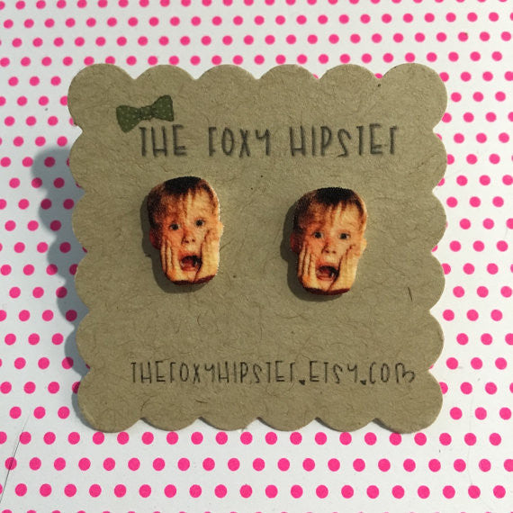 Home Alone Stud Earrings