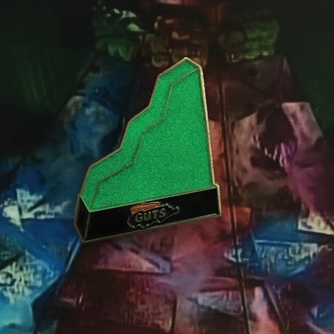 Glow in the dark Aggro Crag - Enamel Pin - nickelodeon guts