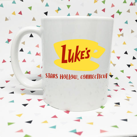 Luke's Diner Gilmore Girls   11oz coffee mug