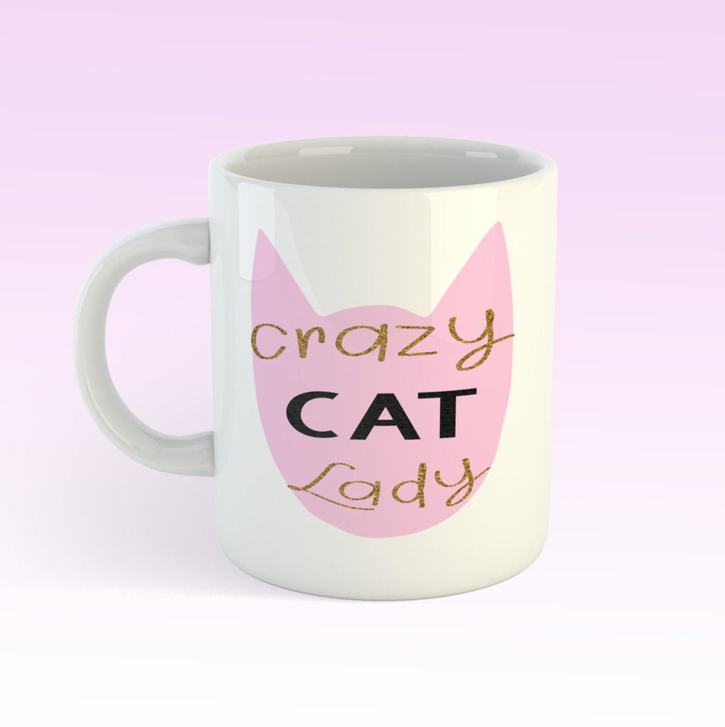 Crazy Cat Lady  11oz coffee mug