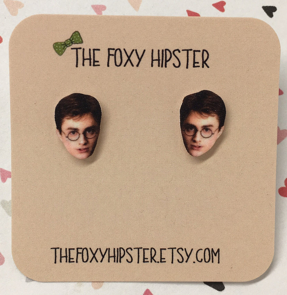 Harry Potter Stud Earrings The Foxy Hipster