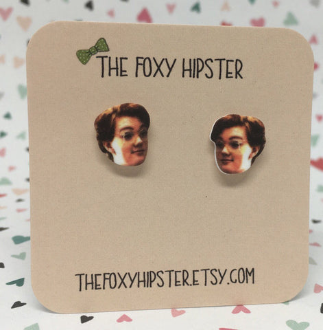 Stranger Things Barb Inspired Stud Earrings