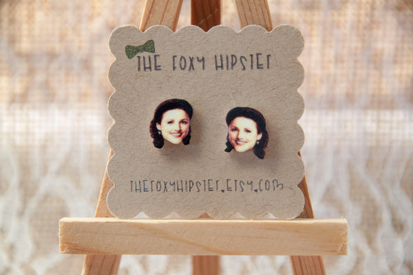 Elaine Benes Inspired Stud Earrings