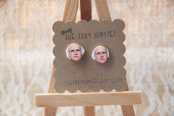 Larry David Stud Earrings