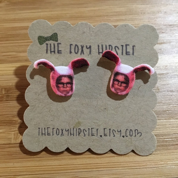 A Christmas Story Ralphie Inspired Stud Earrings
