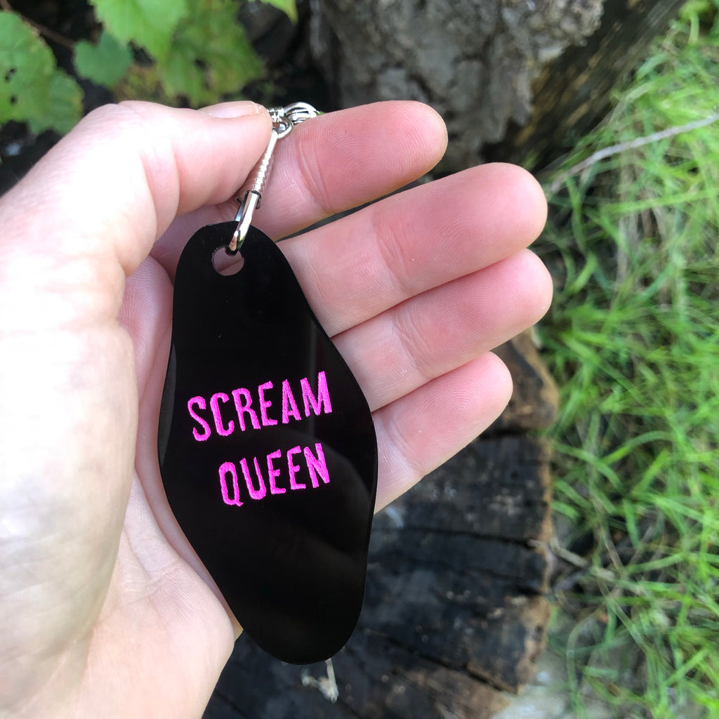Scream Queen Keychain