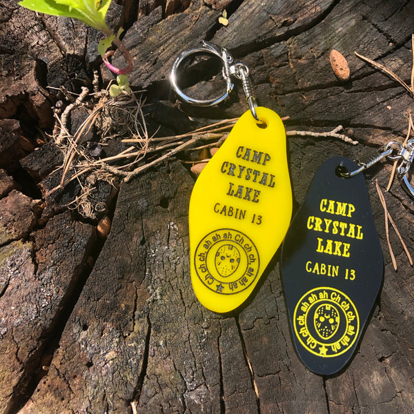 Camp Crystal Lake Keychain Friday the 13th