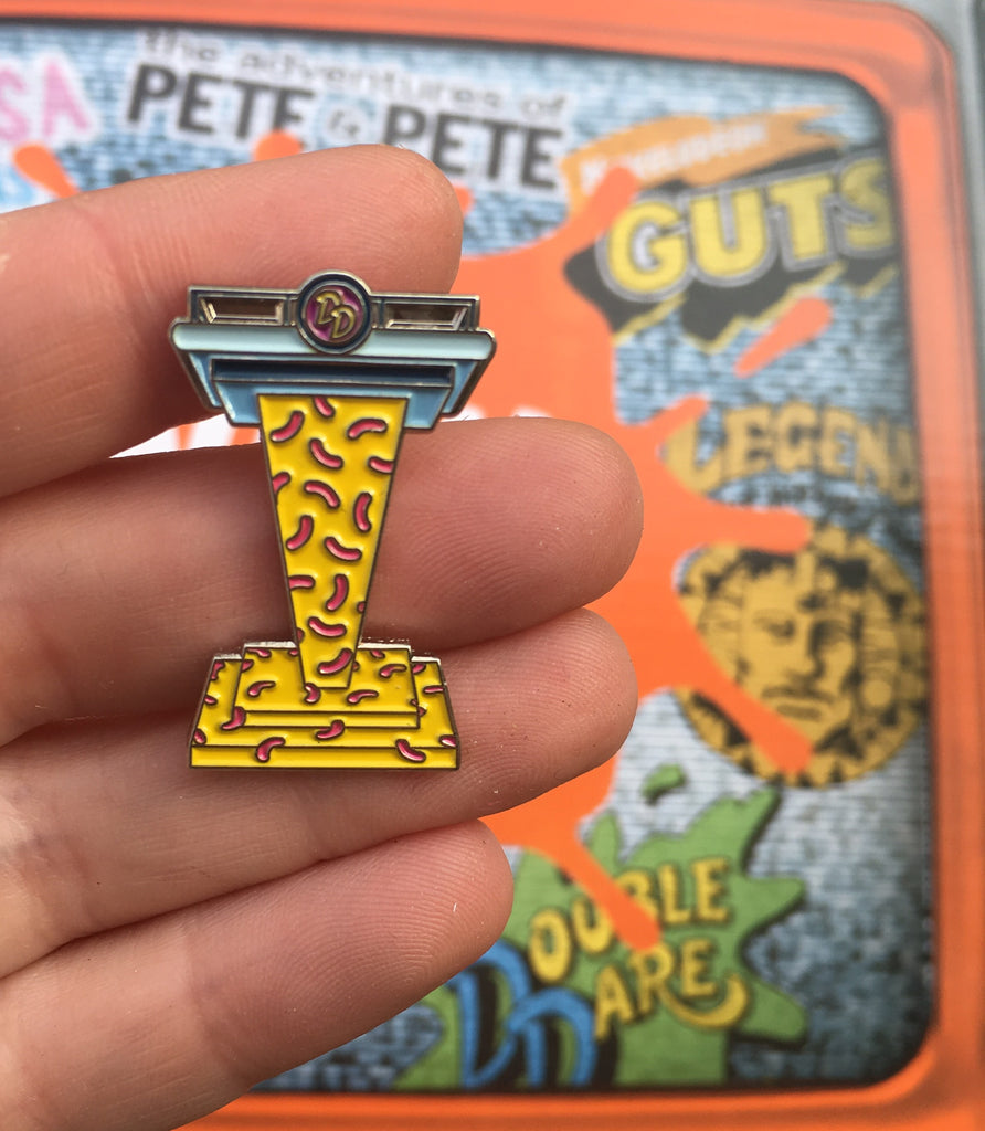 Double Dare Enamel Pin -