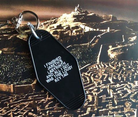 Labyrinth Key Tag