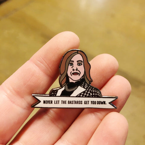 Moira Rose Enamel Pin Schitts Creek