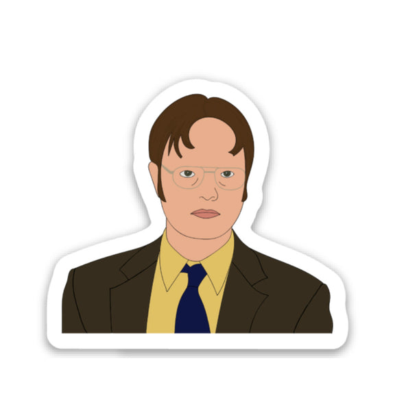 Dwight Schrute Vinyl Sticker