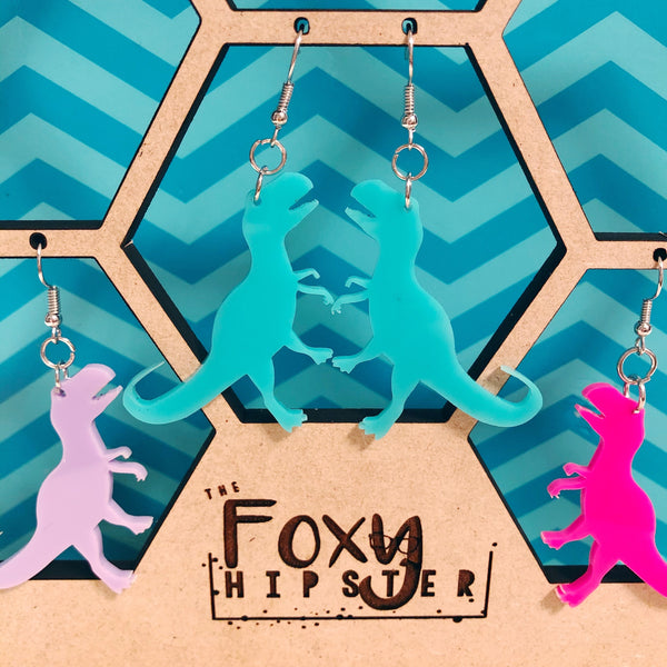 T-REX Dangle Earrings