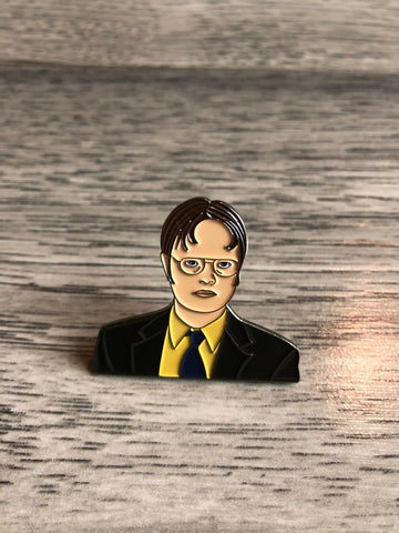 Dwight Schrute Enamel Pin