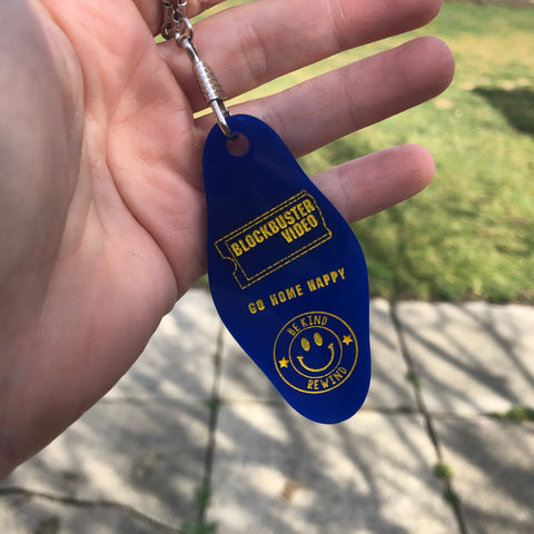 Blockbuster Video Store Keychain