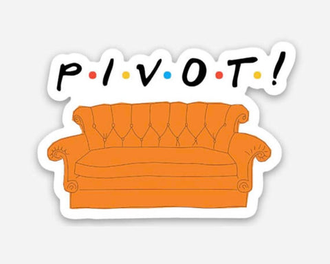 Pivot Friends Vinyl Sticker