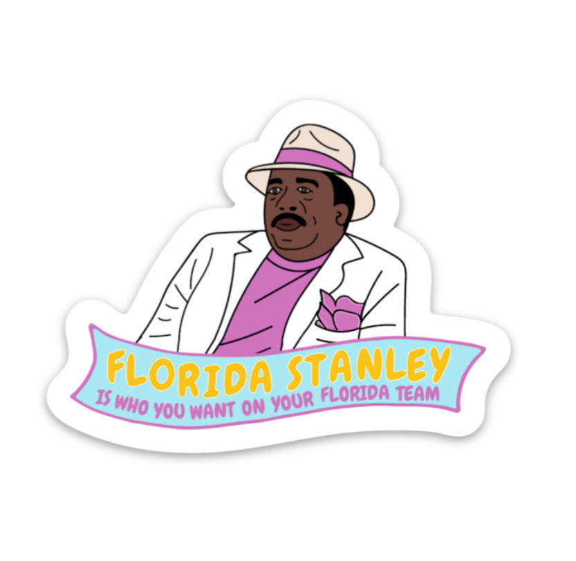 Florida Stanley  Vinyl Sticker