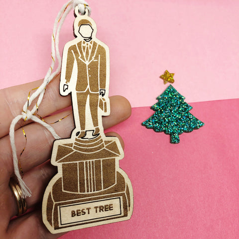 The Office Custom Dundie Award Ornament