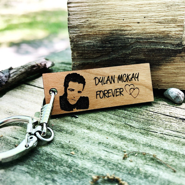 Dylan McKay forever Keychain