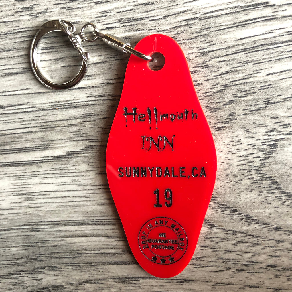 Hellmouth Inn Key Chain Buffy