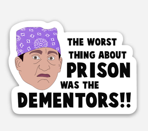Prison Mike Vinyl Sticker