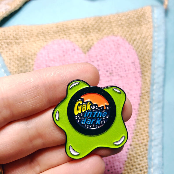 Gak in the Dark Enamel Pin