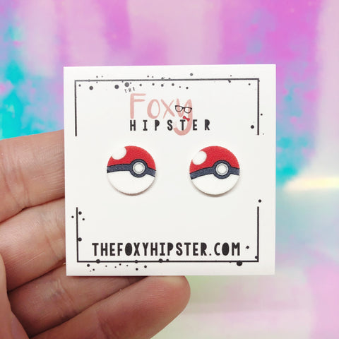 Pokemon Stud Earrings