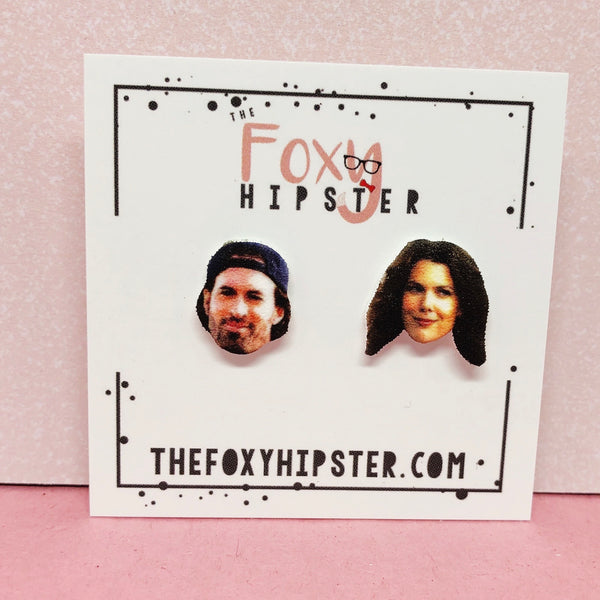 Luke and Lorelai Stud Earrings