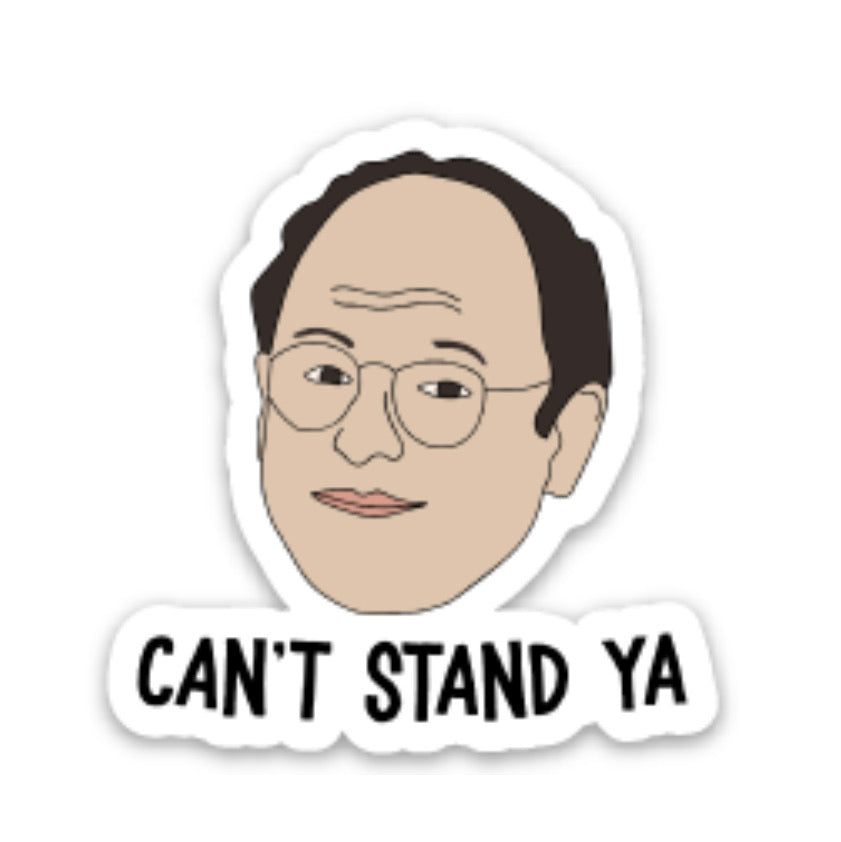 George Costanza Vinyl Sticker