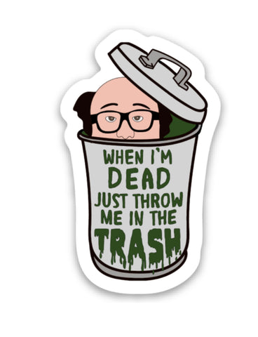Frank Reynolds Vinyl Sticker