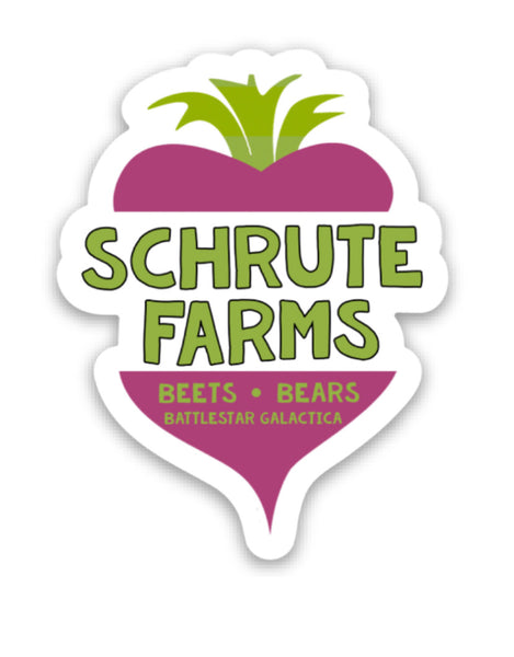 Schrute Farms Vinyl Sticker