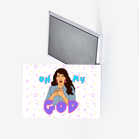 Friends Janice Oh My God Fridge Magnet
