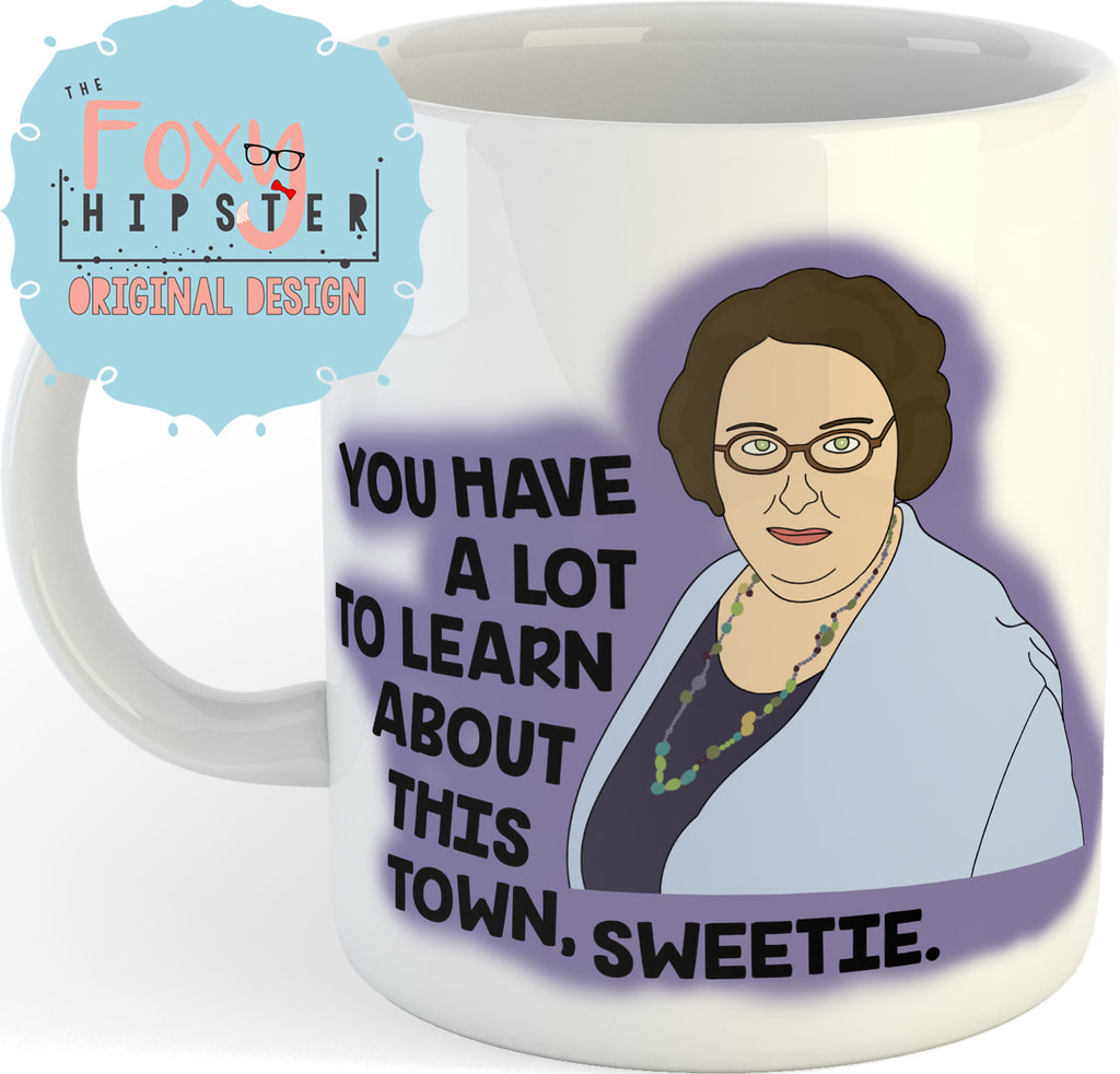 Phyllis Vance 11oz coffee mug The Office Inspired