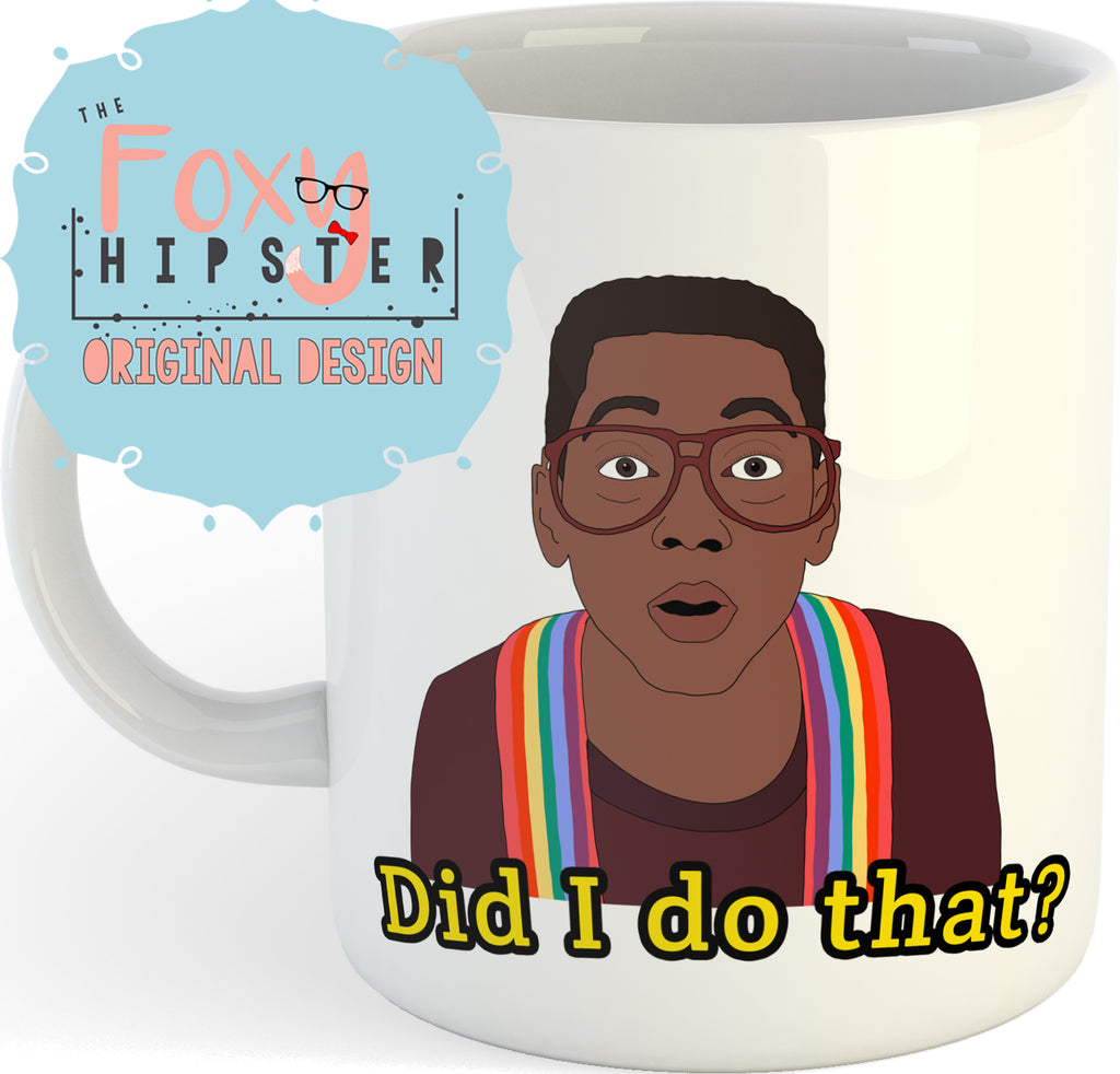 Steve Urkel Did I do That? Family Matters 11oz coffee mug