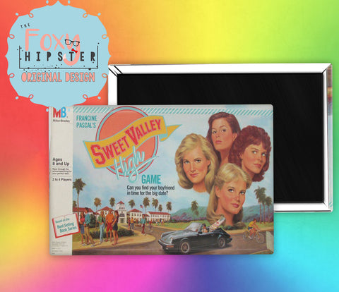 Board Game Sweet Valley High Fridge Magnet