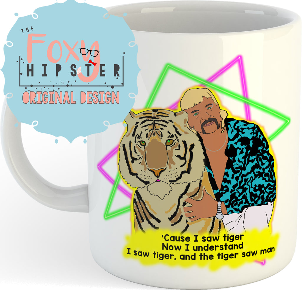 Joe Exotic Tiger King 11oz Coffee Mug