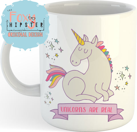 Unicorns Are Real  11oz coffee mug