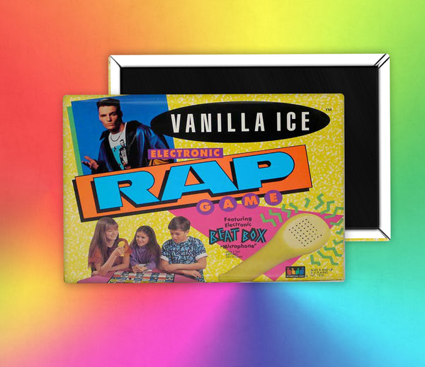 Board Game Vanilla Ice Rapper Fridge Magnet