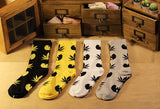 Wu Tang Clan Weed Leaf Skateboard Socks