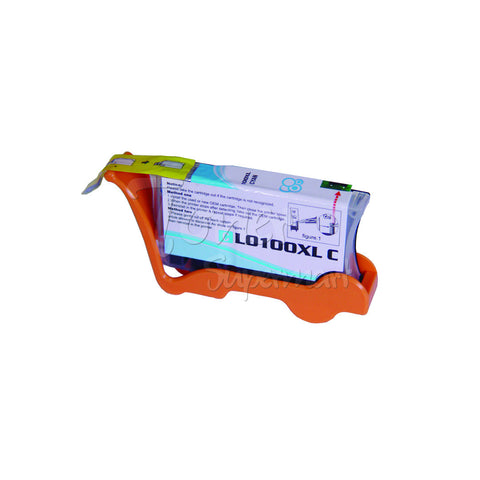 Compatible LEXMARK 100XL High Yield Cyan INK / INKJET Cartridge