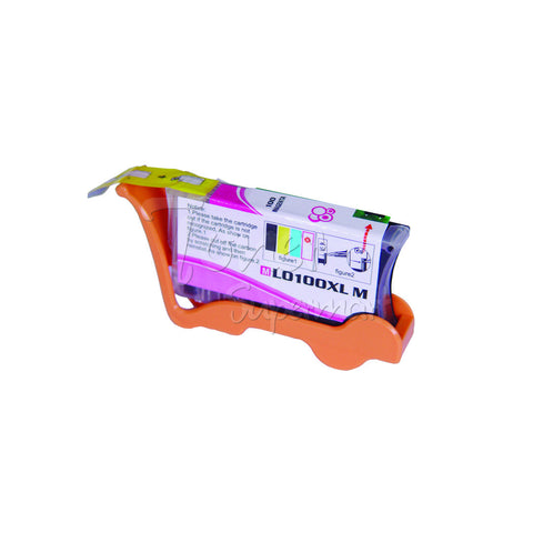 Compatible LEXMARK 100XL High Yield Magenta INK / INKJET Cartridge