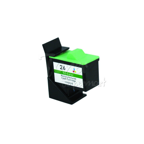 Remanufactured LEXMARK #26 Color INK / INKJET Cartridge