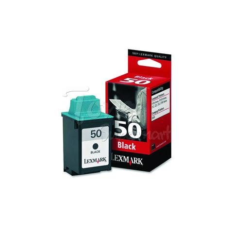 Compatible LEXMARK #50 Black INK / INKJET Cartridge