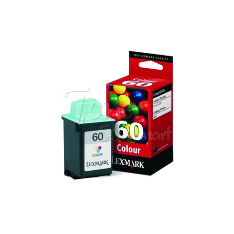 Remanufactured LEXMARK #60 (17G0060) Color INK / INKJET Cartridge