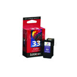 LEXMARK #33 Color INK / INKJET Cartridge