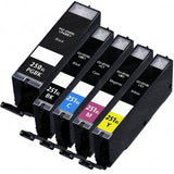 CANON PGI-250XL / CLI-251XL 5pcs INK / INKJET Cartridge Combo