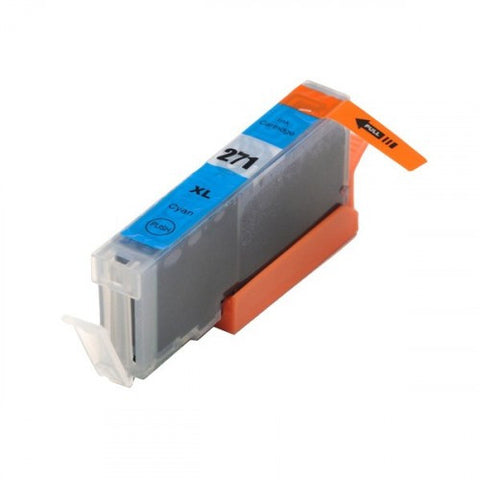 Compatible CANON CLI-271XL Cyan Ink Cartridge High Yield