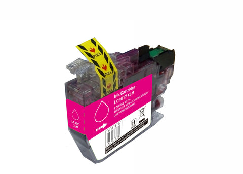 BROTHER LC3017 XL Magenta INK / INKJET Cartridge High Yield