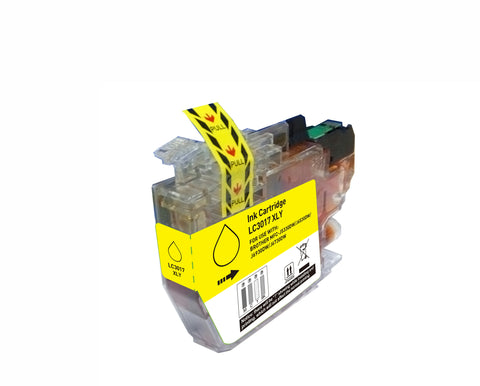 BROTHER LC3017 XL Yellow INK / INKJET Cartridge High Yield