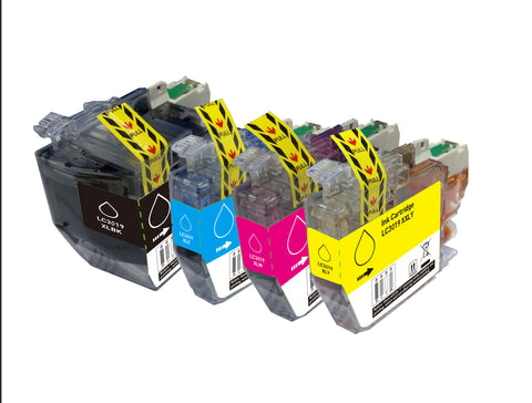 BROTHER LC3019 XXL 4pcs Set INK / INKJET Cartridge Extra High Yield